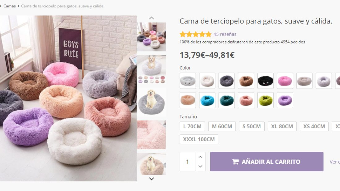 producto variable en Woocommerce