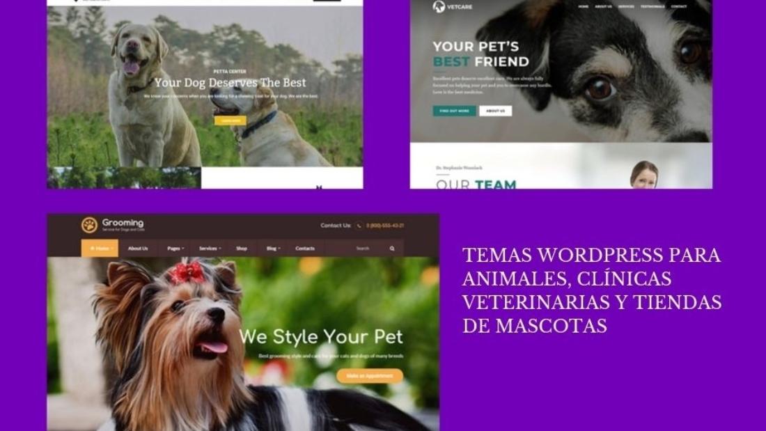 Temas Wordpress para animales