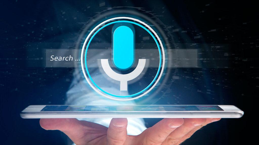 búsqueda por voz